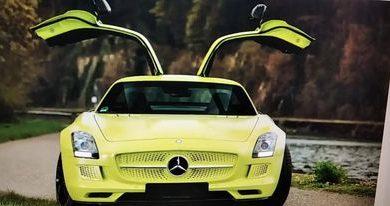 Photo of Prodaje se vrlo redak električni Mercedes SLS AMG (vrlo skup)